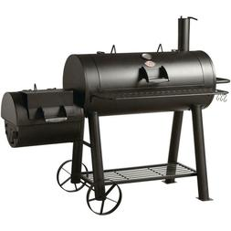 Char-Griller Competition Horizontal Offset Charcoal Wood Smo