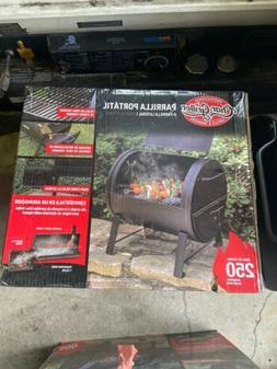 Char-Griller E72424 250 Sq.Inch Table Top Charcoal Grill and