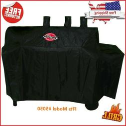Char-Griller Grill Cover for Barrel Grill and Smoker Models