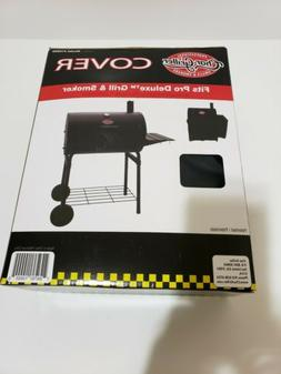 Char-Griller Pro Deluxe Grill & Smoker Cover