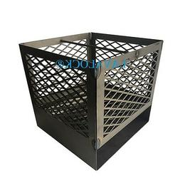 Charcoal basket UDS Ugly Drum Smoker w/ legs & ash pan 55 ga