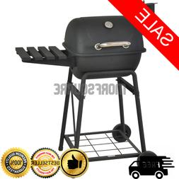 Charcoal Grill 26 Barrel BBQ Smoker Barbecue Patio Backyard