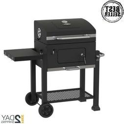 "Kingsford 24"" Charcoal Grill, iron cooking grid has foldable"
