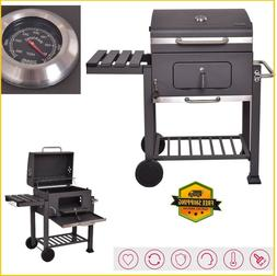 Charcoal Grill BBQ Smoker Outdoor Barbecue Accessories Porta