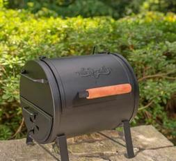 Charcoal Grill Portable 2-in-1 250-sq in Black Lightweight S