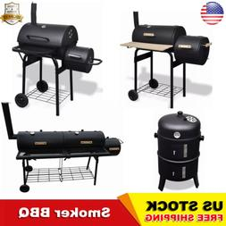 Charcoal Grill Portable Outdoor Yard BBQ Cooking Burger Barb
