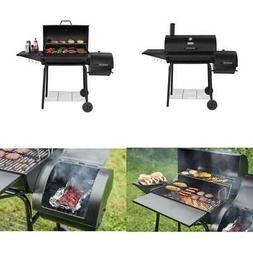 """Charcoal Grill with Offset Smoker Royal Gourmet 30"""" Outdoor"""