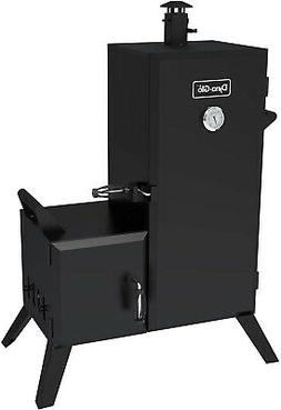 Charcoal Smoker Grill 1,176 sq in Vertical Offset Backyard B