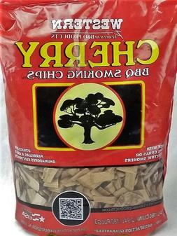 Western Cherry Smoking Chips, 2-Pound Bags