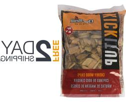 Cherry Wood Chips for Smoking Meat Pork Ribs BBQ Electric Sm