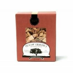 """Charcoal Companion Cherry Wood Gourmet Smoking Chips/144"""""""