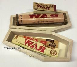 Coffin Smokers Box + RAW King Size Slim Classic & Organic Pa