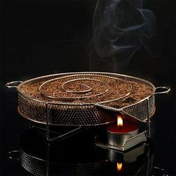 """Realcook 8"""" Cold Smoke Generator, Hot or Cold Smoking on Any"""