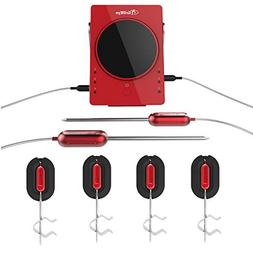 GrillEye Complete Master Kit 6 Meat/Ambient Probes Smart Blu