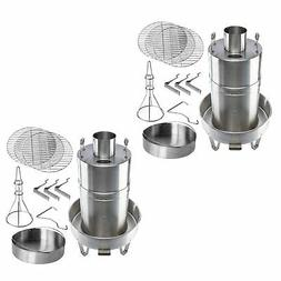 Orion Cooker Outdoor Convection Cooker Stainless BBQ Smoker