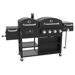 Smoke Hollow DG1100S Pro Series 4-in-1 LP Gas Charcoal Smoke