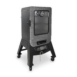 Digital Electric Vertical Smoker Outdoor Cooking Porcelain C