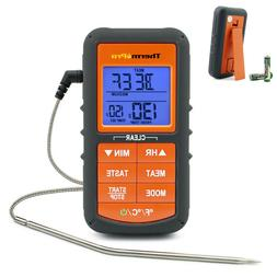 ThermoPro Digital Meat Cooking Thermometer With Timer for Sm