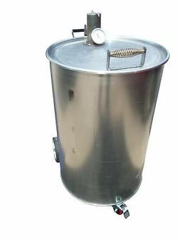 Drum Smoker Kit with New Unpainted Drum