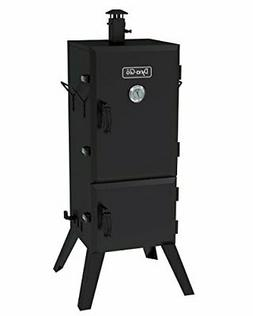 durable vertical charcoal smoker w 4 cooking