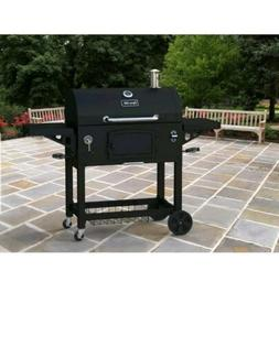 Dyna-Glo DGN576DNC-D Black Charcoal BBQ Grill, Extra Large