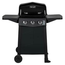 Dyna-Glo Propane Grill 3-Stainless Steel Burner 2-Side Shelv