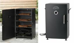 Electric Smoker Smoky Meat Fish Food Smokey Mountain Barbecu