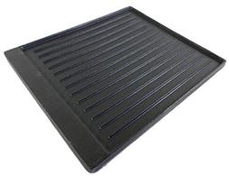 "Broil King Exact Fit Cast Iron Reversible Griddle 15"" X12 3/"