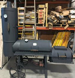 F3901~ BRINKMANN PROFESSIONAL GRILL VERTICAL SMOKER-FREDERIC