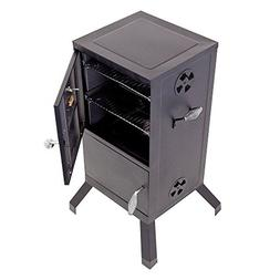 Family Party Vertical Steel Charcoal BBQ Smoker Grill