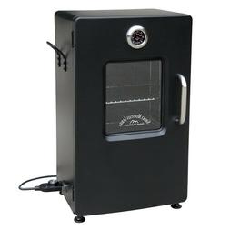 Food Smoker Electric Smokers Meat Fish Glass Window Barbeque