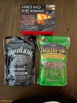 Charcoal Companion Gas Grill Smoker Box  V Shape W/Jack Dani