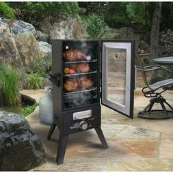 Gas Smoker Barbecue Grill BBQ Large Gas Cooker Outdoor Uprig