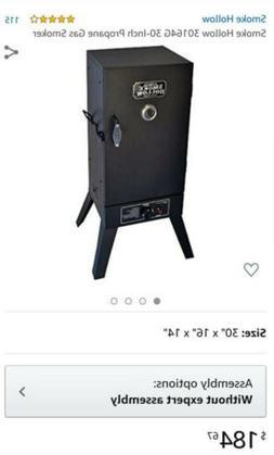 Smoke Hollow Gas Smoker Vertical Propane Outdoor Cooking Alu