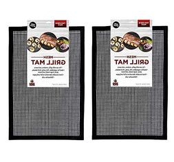 Grill Mesh, Zinnor BBQ Grill Mesh Mat Set of 2,FDA-Approved