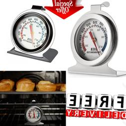 Grill Thermometer Stainless Steel Smoker Cooker Outdoor Hang