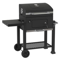 Heavy Duty 24-Inch Charcoal Grill BBQ Barbecue Smoker Outdoo