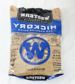 Hickory Wood Smoking Chips for Grills Smokers Western