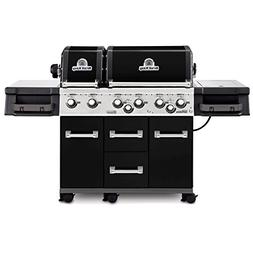 Broil King Imperial XL Black - Black - 6 Burner - Propane Ga