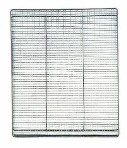 Camp Chef Jerky Rack For 18' Smoker, Silver, Silver