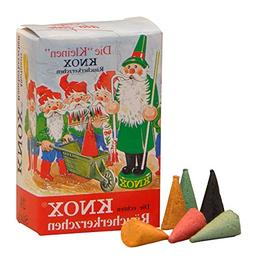 Knox MINI German Incense Cones Variety Pack Made Germany for