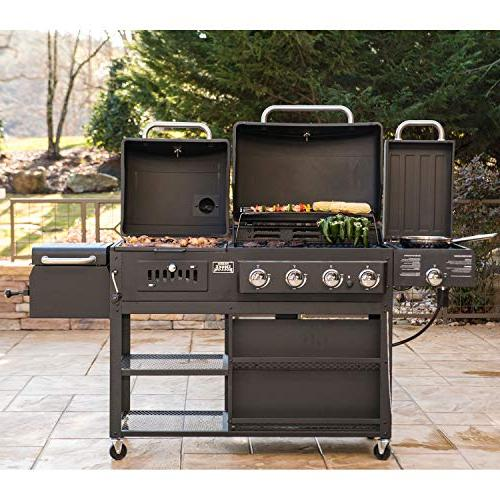 Smoke 4-in-1 LP Gas BBQ Grill Model PS9900