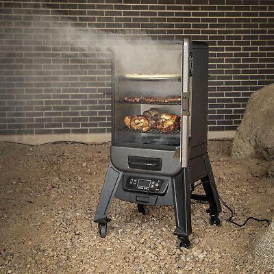 2-Series Digital Vertical Smoker Cooking BBQ