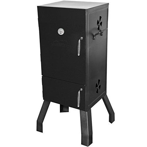 20060516 vertical charcoal smoker