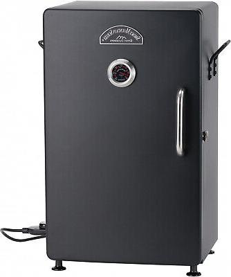 steel electric smoker smoky mountain series 26