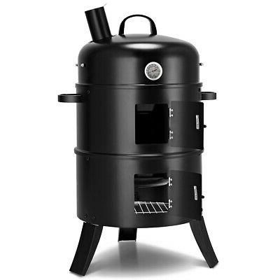 Charcoal Smoker Vertical Grill