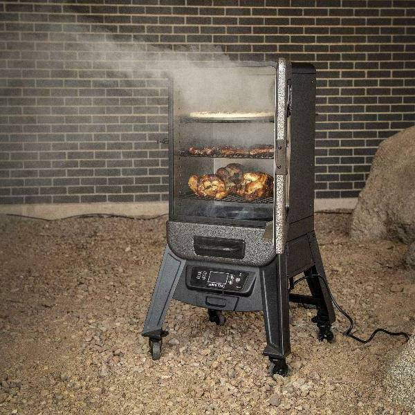 3 Rack Electric Vertical Outdoor Meat Fish Roast