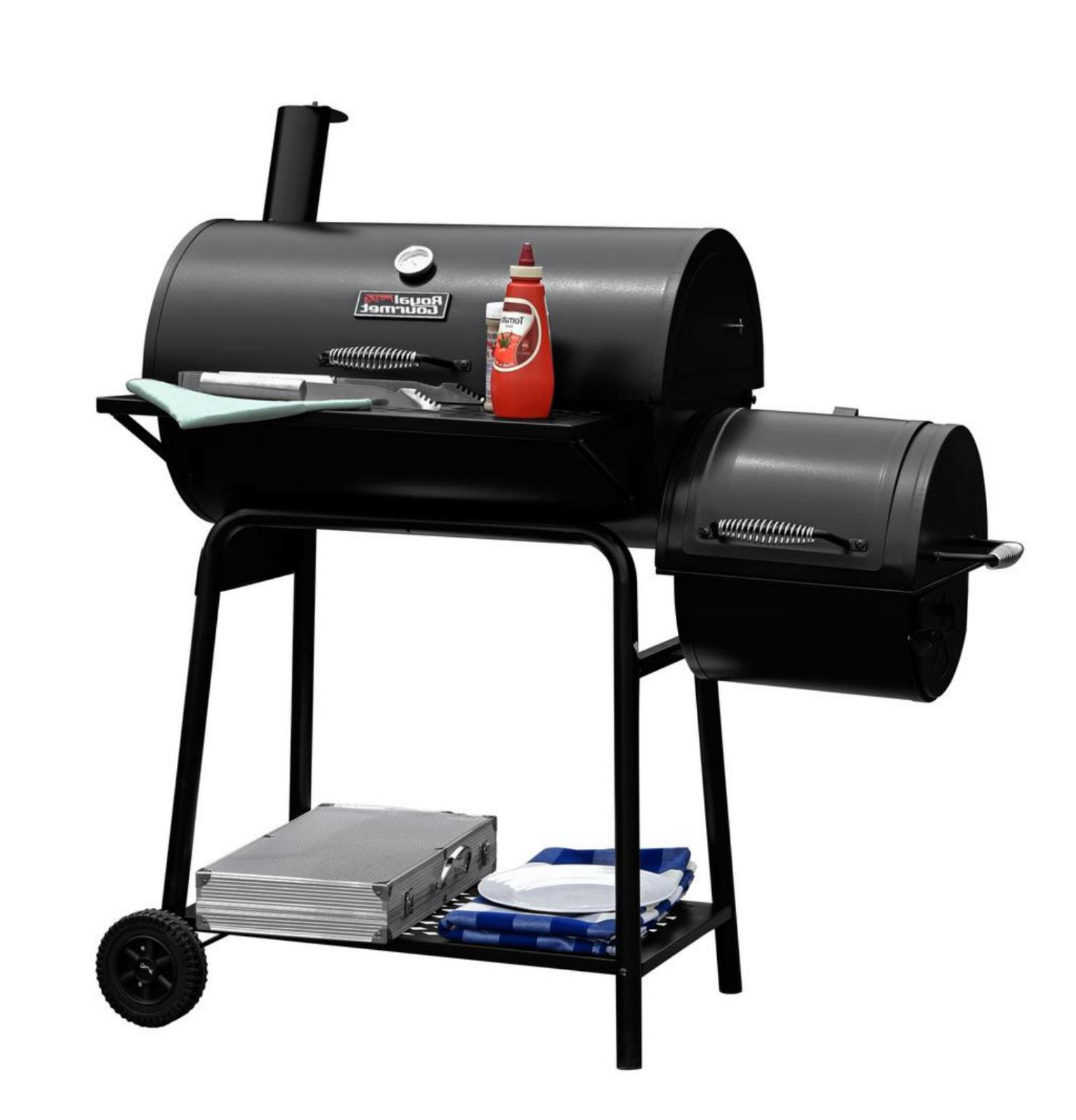 30 in. with royal gourmet bbq