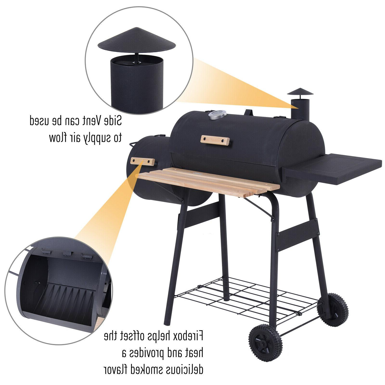 Outsunny Backyard Grill and Combo