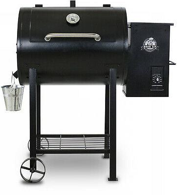 700fb wood fired pellet grill w flame